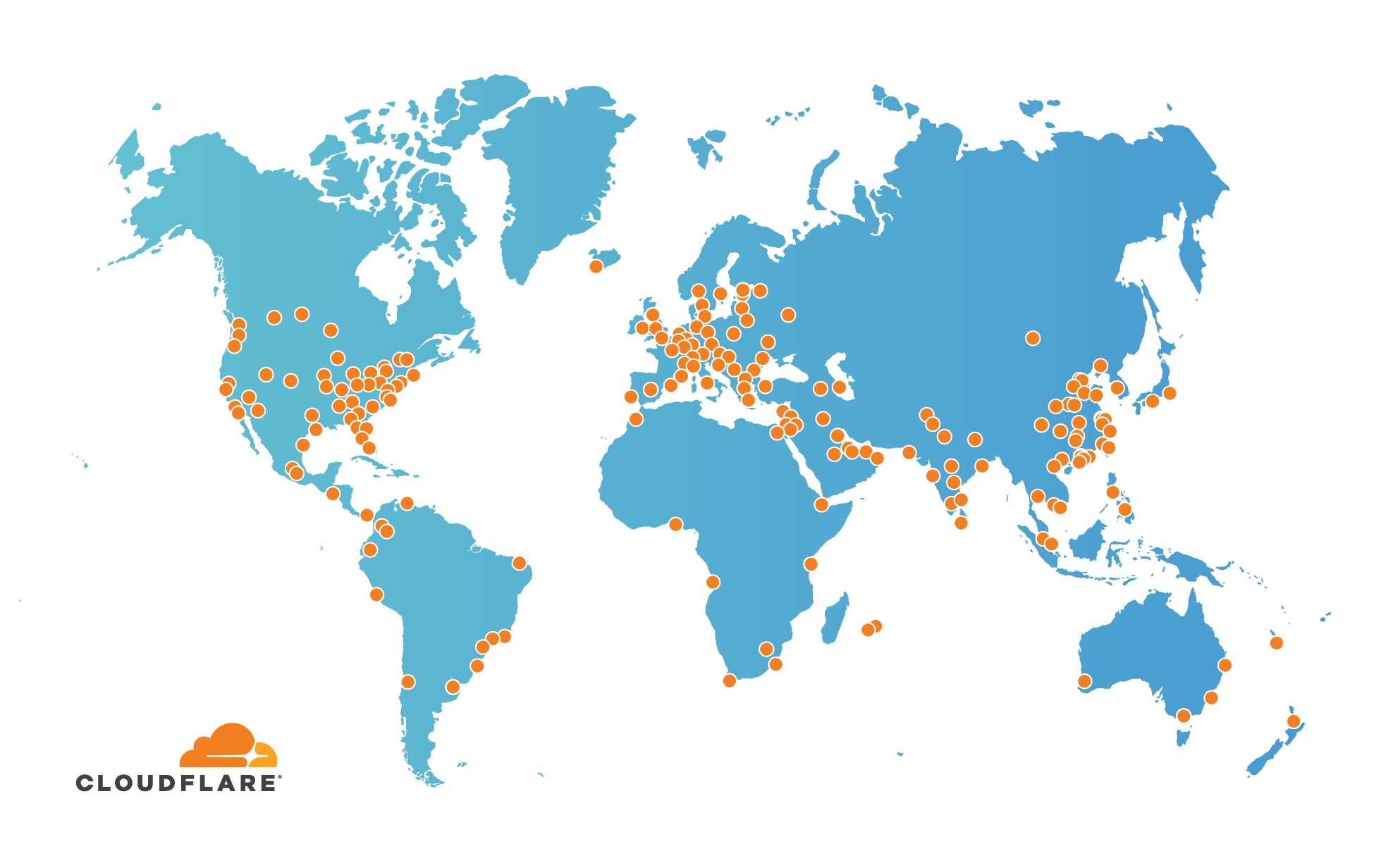 Cloudflare Global Network Expands to 193 Cities