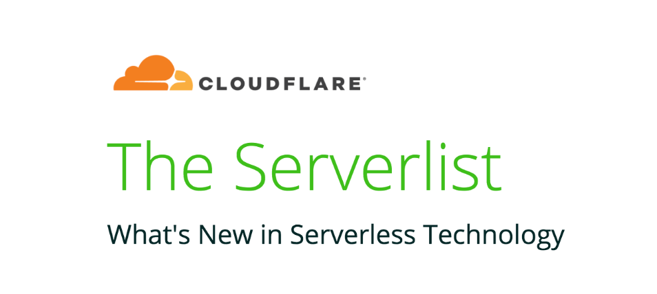 The Serverlist: Full Stack Serverless, Serverless Architecture Reference Guides, and more