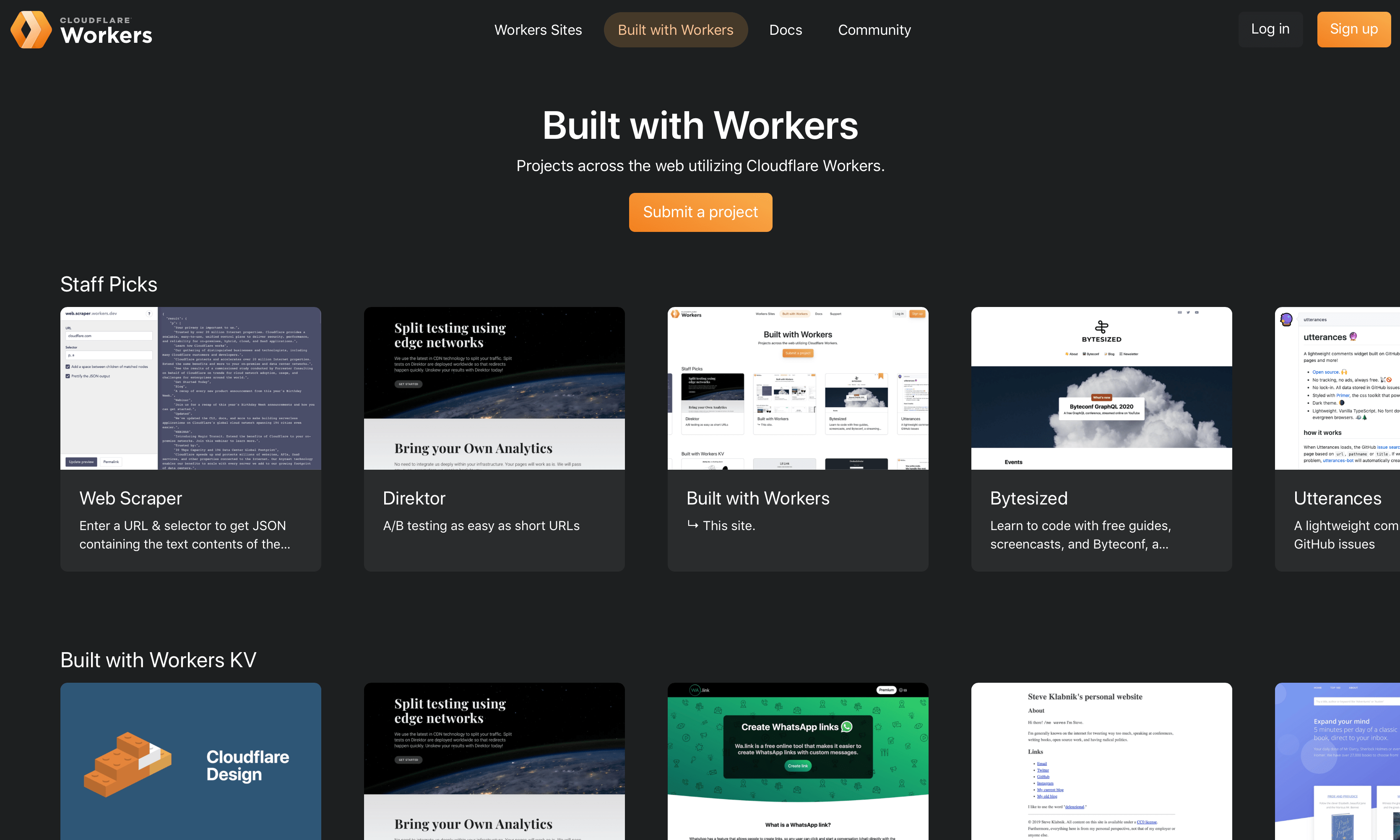 How we built Built with Workers… on Workers