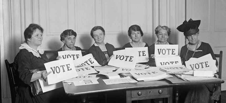Why the 100th Anniversary of Women's Right to Vote in the U.S. is Important to Celebrate on International Women's Day