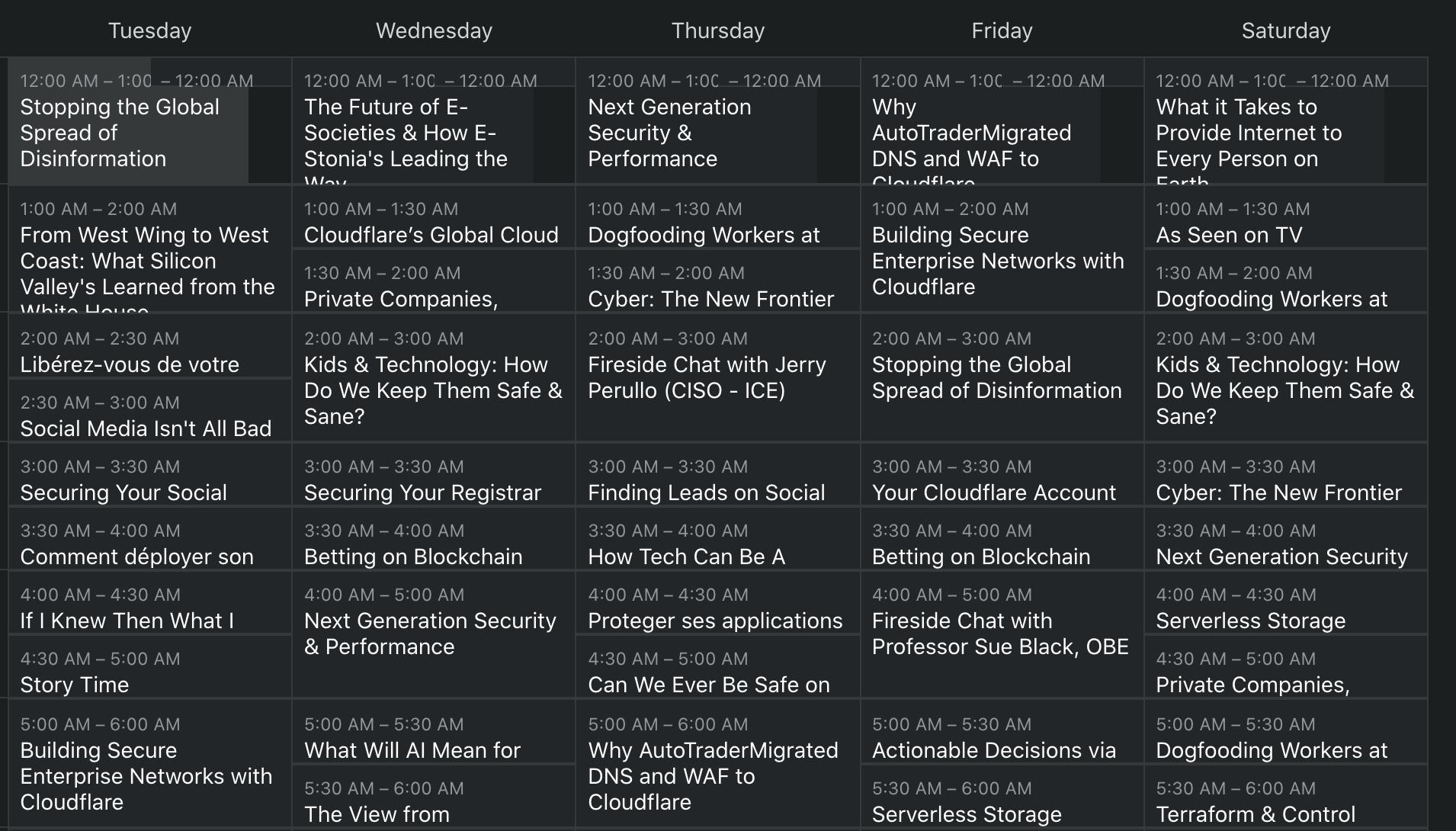 Ladies and Gentlemen…Cloudflare TV!